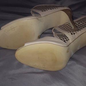 Jessica Simpson Shoes - Open toe heels